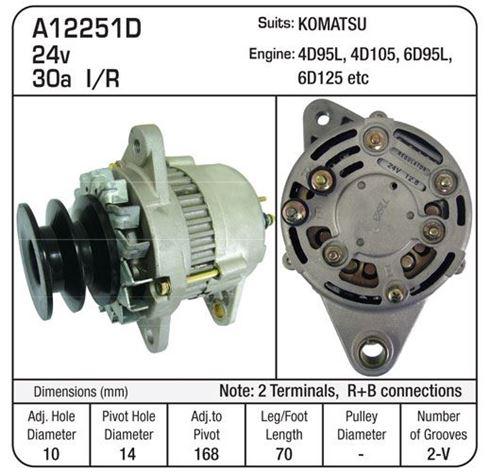 Auto Electrical Spares  A12251D